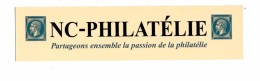 Marque Page Nc Passion Philatelie - Bookmarks