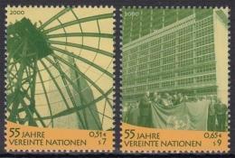 UNO Wien MiNr. 309/10 ** 55 Jahre Vereinte Nationen - Sonstige - Europa