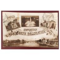 Exposition Des Arts Décoratifs  1925  Multivues - Ausstellungen
