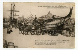 LL , 13 , MARSEILLE , Char Funèbre De La Célèbre Sardine Marseillaise , Vierge - Marsella