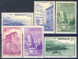 Monaco 1946 Serie N. 275-280 MNH Catalogo € 12,50 - Monaco