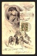 NAPOLEON PASSAGE ALPES SWITZERLAND MULLER EDITION  Vintage Original Ca1900 POSTCARD CPA AK (W4_2691) - Hommes Politiques & Militaires