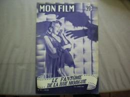 MON FILM N° 429 DU 10-11-54 DOLORES DORN DANS LE FANTOME DE LA RUE MORGUE - Kino