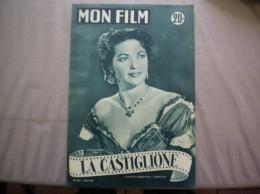 MON FILM N° 431 DU 24-11-54 YVONNE DE CARLO DANS LA CASTIGLIONE - Kino