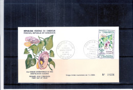 FDC Cameroun - Floralies Internationales De Paris (à Voir) - Cameroun (1960-...)