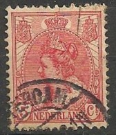 Timbres - Pays-Bas - 1898-1907 - 5 Ct - - Used Stamps