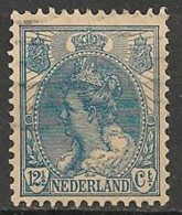 Timbres - Pays-Bas - 1898-1907 - 12 1/2 Ct - - Used Stamps