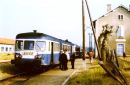 Villemur Sur Tarn (31) 31/05/1984 - Train Spécial Pour Le Centenaire De La Lignr - X2909 + 2XR + X2800 - Other Municipalities