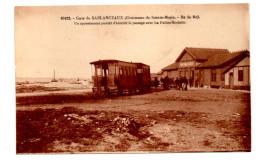 Sainte Marie Sablanceaux Ile De Ré Gare Train Wagons Appontement La Palice La Rochelle Charente Maritime Ed Bergevin - Ile De Ré