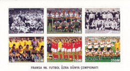 AZERBAIJAN - 1997 - Mi 399-404 - WORLD CUP FOOTBALL / SOCCER - MNH ** - Azerbaïjan