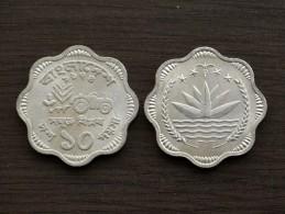 Bangladesh 10 Poisha (F.A.O.) 1974~1979 Km7, UNC, 1PCS,  Asia Coin - Bangladesh