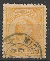 Timbres - Pays-Bas - 1891-1896 - 3 Ct  - - Used Stamps