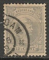 Timbres - Pays-Bas - 1891-1896 - 12 1/2 Ct  - - Used Stamps