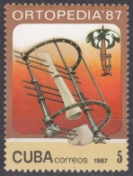 CUBA 1987, ASSEMBLY Of The ORTHOPAEDIC ASSOCIATION In HAVANA, COMPLETE MNH SET, GOOD QUALITY, *** - Cuba