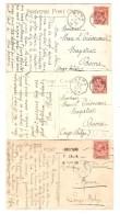 10 CP Anglaises Différentes Vues 1915-1916 Correspondance V.Crèvecoeur Magistrat à Boma Belgisch Congo Belge PR3002 - Collections