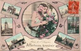 75 Affectueux Souvenir De  PARIS - France