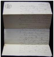 Noirétable (Loire) 1832 Quittance Par André Bertrand à Guillaume Vialle - Manuscripts