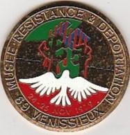 VENISSIEUX - MEDAILLE MUSEE  RESISTANCE ET DEPORTATION 69 - VENISSIEUX 1979- - Frankreich
