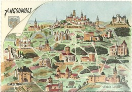 Angoumois - Carte Geografiche