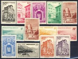 Monaco 1948 - 49 Serie N. 307-313 Vedute Del Principato MVLH Catalogo € 71 - Monaco