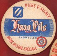 Sous-bock - Haag Pils - Ingwiller - Bière D´ Alsace - Sous-bocks
