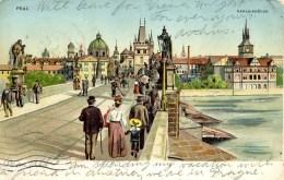 CZECH REPUBLIC - PRAGUE - KARLS-BRUCKE 1903 - Repubblica Ceca