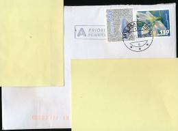 Enveloppe, Prioritaire, Timbres 2014-2013,  Cachet Saas-Grund, Fleurs... - Suisse