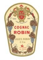 Ancienne étiquette  Cognac   Jules Robin Et Cie   Export - Etiquettes