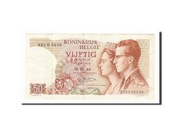 Belgique, 50 Francs, 1964-1966, KM:139, 1966-05-16, TB+ - [ 6] Tesoreria