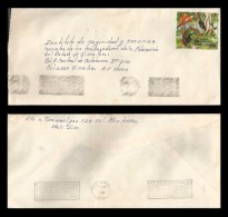 E)1996 MEXICO, ANIMALS, PRESERVE THE SPECIES IN THE RAINFOREST, CIRCULATED COVER FROM CULIACAN TO MAZATLAN-SINALOA,XF - Mexico