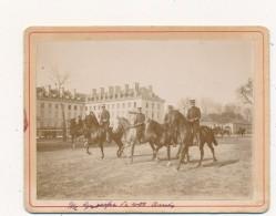 SAUMUR, Ecole De Cavalerie - Photo Contrecollée Sur Carton - Photographs