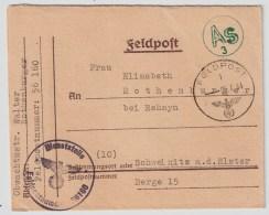 DR, 1944, SS-Feldpost Mit Zensur , #2494 - Covers & Documents