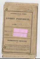 Livret Militaire ,classe 1947 - Documents