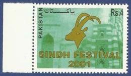 PAKISTAN 2001 MNH SINDH FESTIVAL
