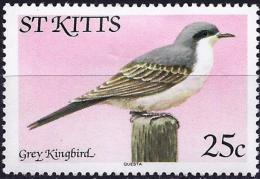 Saint Christopher 1981 - Bird : Grey Kingbird  ( Mi K 52 I - YT 458 ) MH* - St.Christopher-Nevis-Anguilla (...-1980)