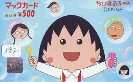 CARTE McDonald's JAPON (197)  MacDonald's * McDonald´s   JAPAN *  U CARD * - Advertising