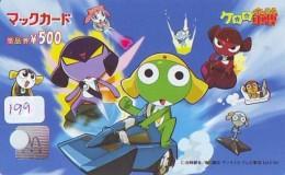 CARTE McDonald's JAPON (199)  MacDonald's * McDonald´s   JAPAN *  U CARD * - Advertising