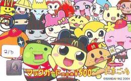 CARTE McDonald's JAPON (213)  MacDonald's * McDonald´s   JAPAN *  U CARD * - Publicidad