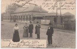 HOUDENG  LA STATION    En 1905 - La Louvière