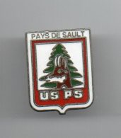 PIN'S TBQ  -  US PS  Union Sportive Pays De Sault  RUGBY 15  - Aude 11 Avec Isard - Rugby
