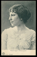 MUSICA  - Virginia Suggia - Distinta Pianista ( Ed. F. A. Martins 1078)  Carte Postale - Portugal