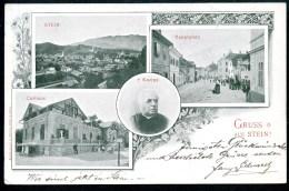 Stein, Kamnik, GRUSS Aus, 19.3.1902, MBK (4), Krain, Curhaus,Hauptplatz, Kneipp, Oberkrain,Gorenjska,Slatnar - Slowenien