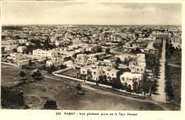 MOROCCO - RABAT - VUE GENERALE PRISE DE LA TOUR HASSAN - Rabat