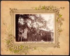 Romania / Hungary-Transylvania: Bikszád (Bixad),  Anna-Villa 1908 - Orte