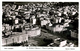 MOROCCO - RABAT - LA POSTE ET LES CHEQUES POSTAUX RP - Rabat