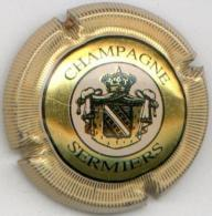 CAPSULE-CHAMPAGNE SERMIERS N°10 PCC Contour Or Striée - Sermiers
