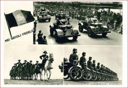 M3619 MILITARI CARABINIERI PARATA FESTA ARMA 1958 VIAGGIATA - Regiments