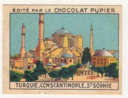 TURQUIE,TURKEI,TURKEY, CONSTANTINOPLE,STE. SOPHIE CHOCOLAT PUPIER CARD NEW - Oude Documenten