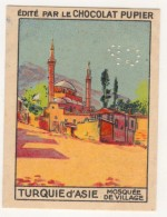 TURQUIE,TURKEI,TURKEY, MOSQUIE DE VILLAGE CHOCOLAT PUPIER CARD NEW - Oude Documenten