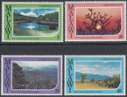 Malawi 1979 Christmas: Landscapes. Mi 336-339 MNH - Malawi (1964-...)